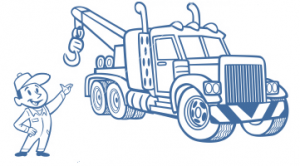 tow truck draw
