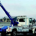 boom tow truck